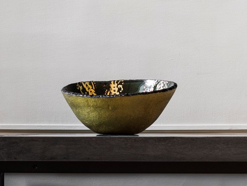 Glass serving bowl CARIMBO | Serving bowl by Gardeco