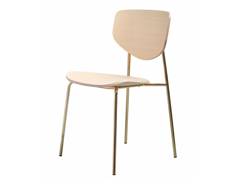 Stackable wooden chair CARISTO | Wooden chair by SP01