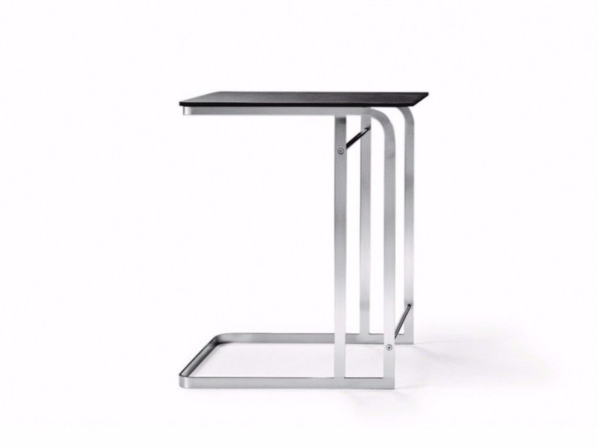Square wooden side table CARLOTTA | Square coffee table by FLEXFORM