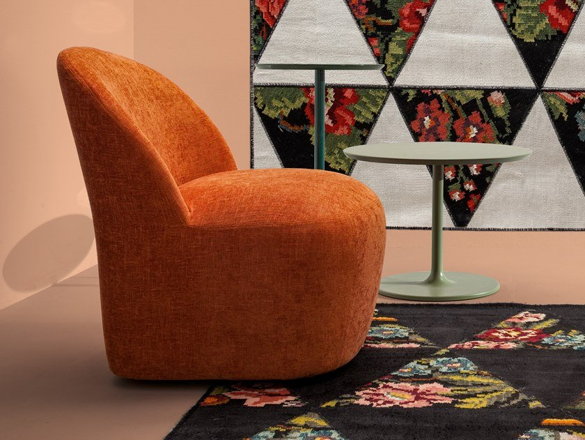 Fabric easy chair CARNABY | Easy chair by Twils