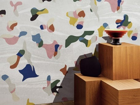 Ecological fire retardant wallpaper CARNIVAL by Wall&decò