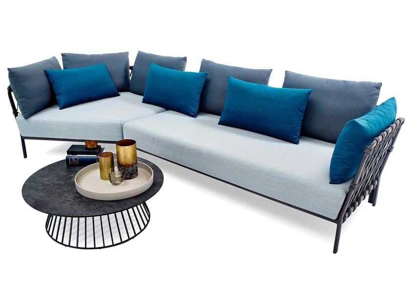 Sectional garden sofa CARO | Sectional garden sofa by solpuri