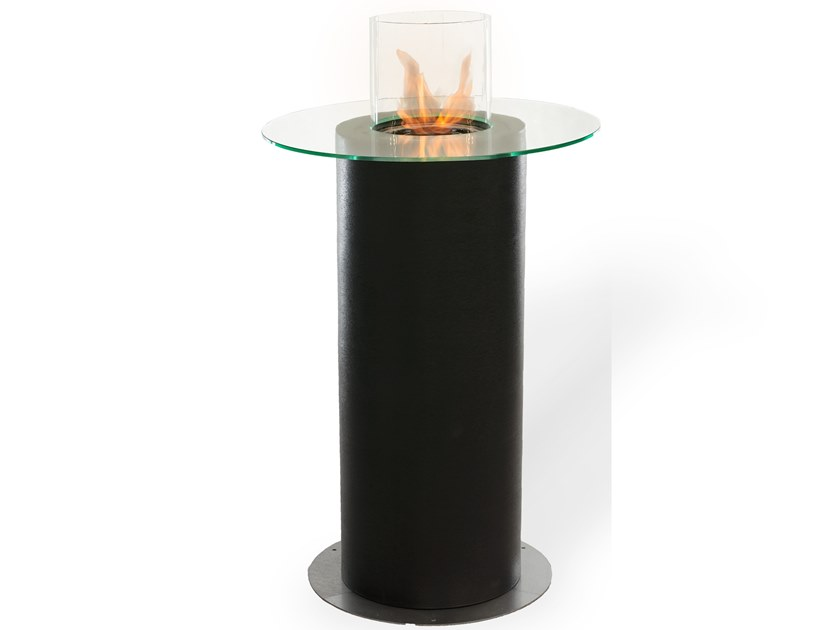 Fireplace / table CARO TABLE by Planika