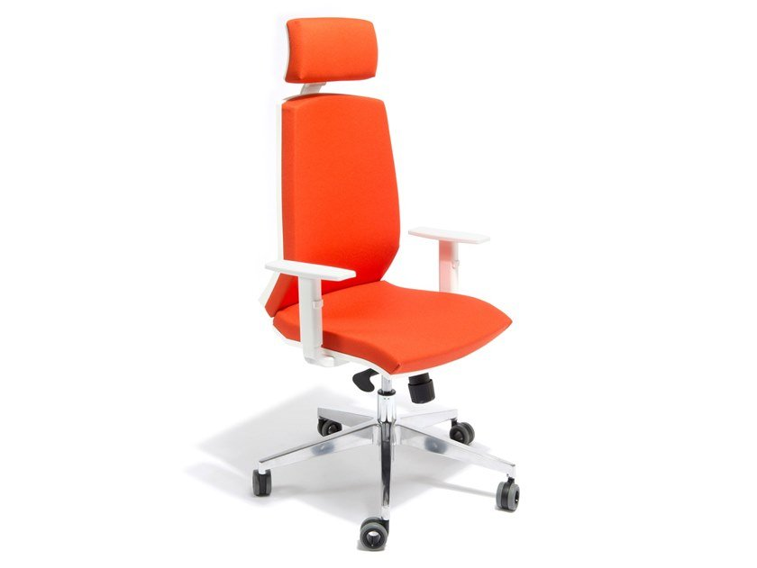 Fabric task chair with 5-Spoke base CAROLINA by AP Factor
