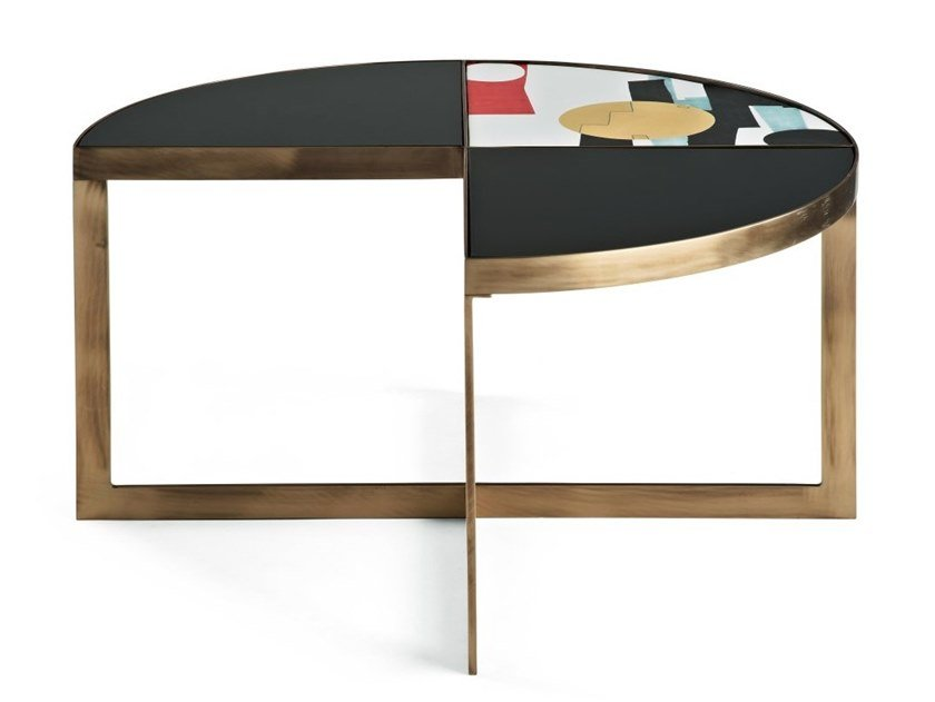 Carousel Round Coffee Table