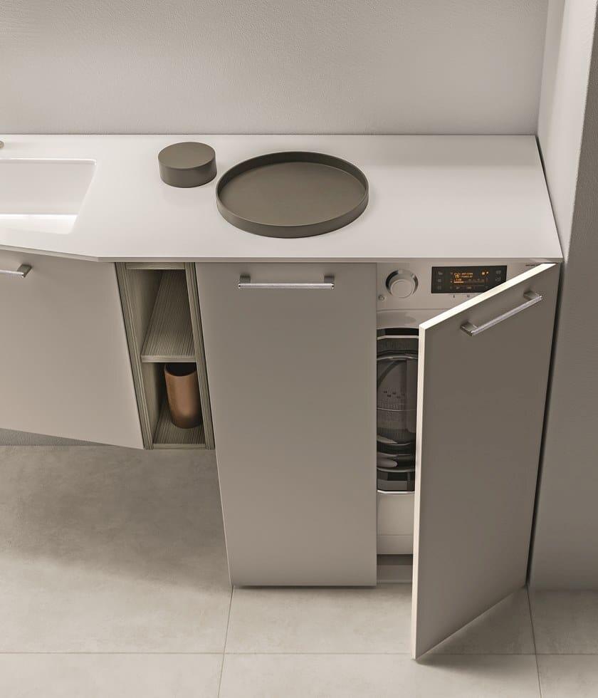 Mobile bagno con base portalavatrice CARTABIANCA   Mobile ...