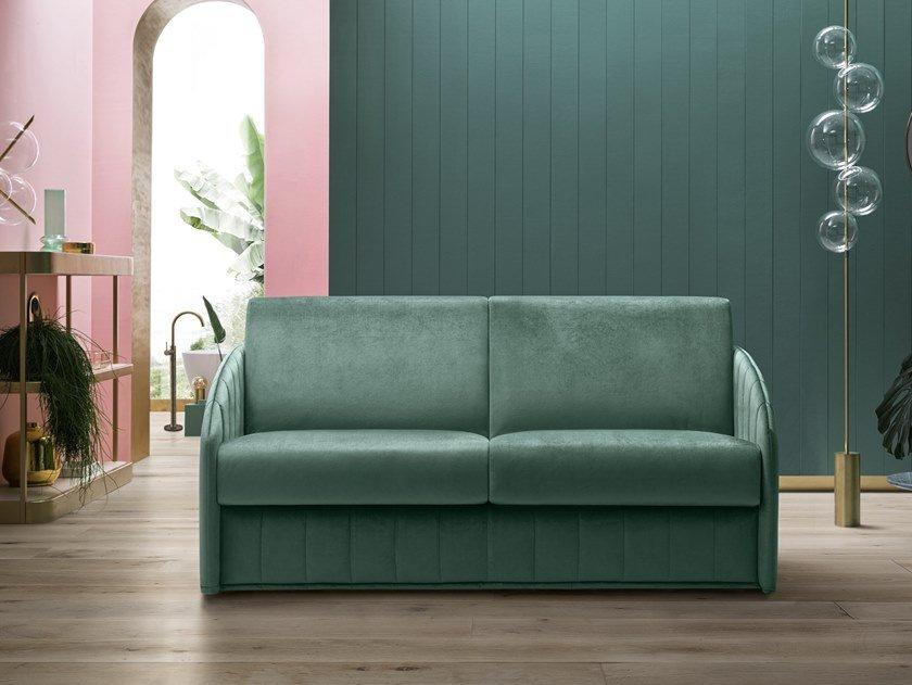 3 seater fabric sofa bed CARTER by Felis