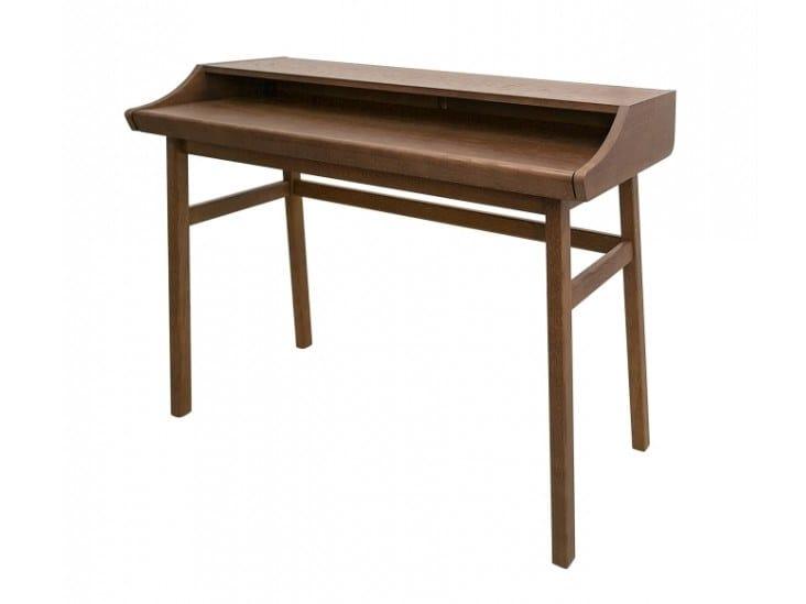 Walnut secretary desk CARTERET | Walnut secretary desk by Woodman