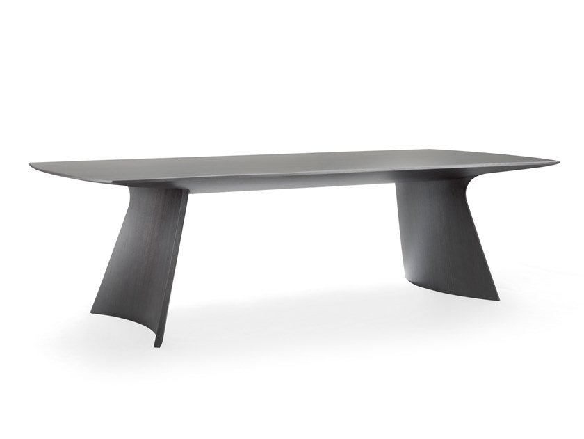 Wooden table CARUSO by Busnelli