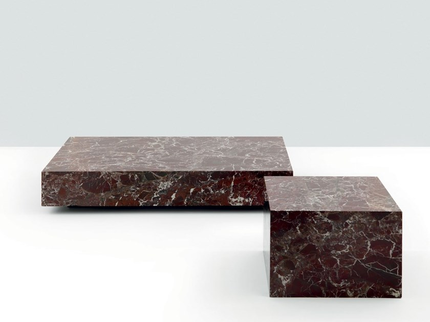 Low square marble coffee table CASA DEGLI DEI | Coffee table by Mascheroni