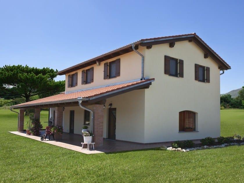 Casa prefabbricata in legno casa mia 127 by spazio positivo - Casa ecologica prefabbricata prezzi ...