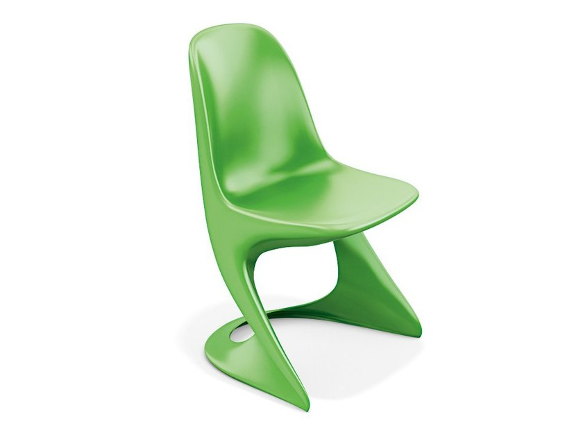 Cantilever plastic chair CASALINO 2004-00 by Casala