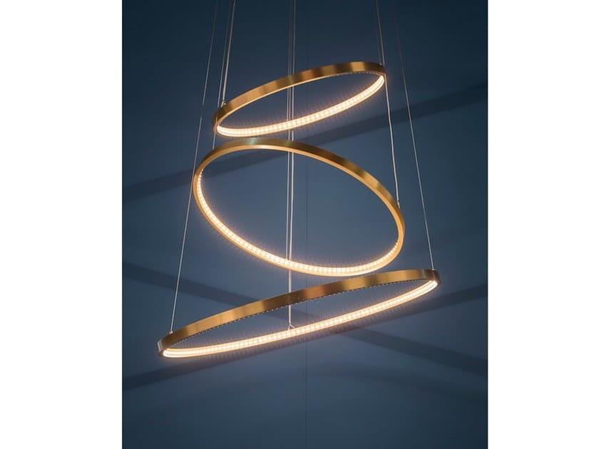 Suspension LED réglable CASCADE By Le Deun Luminaires
