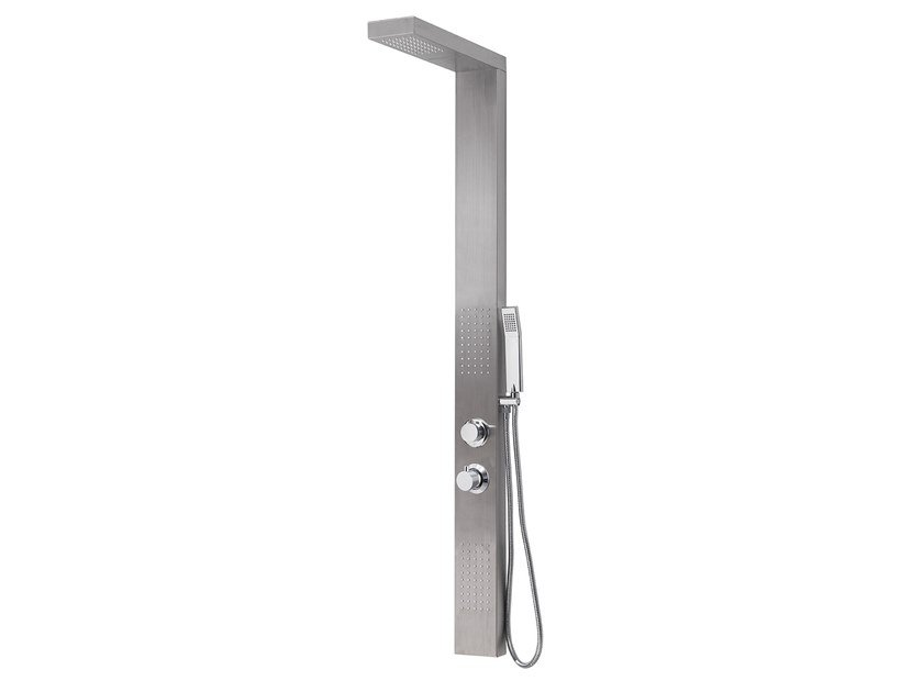 Gedy Thermostatic Shower Column.Wall Mounted Multifunction Thermostatic Shower Panel
