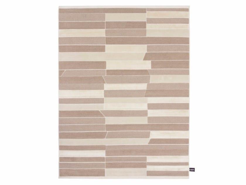 Handmade custom rug CASELLARIO MONOCROMO 2.0 by cc-tapis
