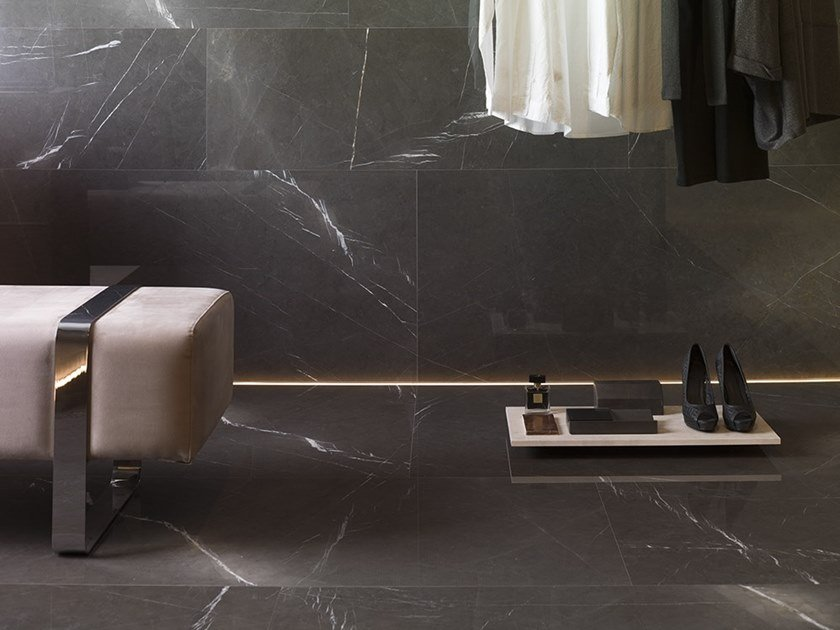 Marble wall/floor tiles CASPIAN GREY by L'ANTIC COLONIAL