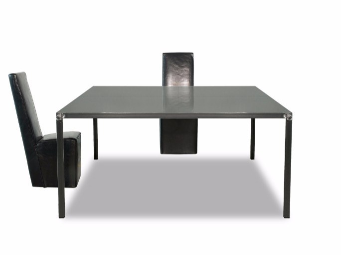 Square metal table CASSANDRA | Table by BAXTER