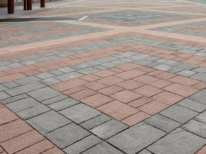 Concrete paving block CASSIA - DIAMANTI by RECORD - BAGATTINI