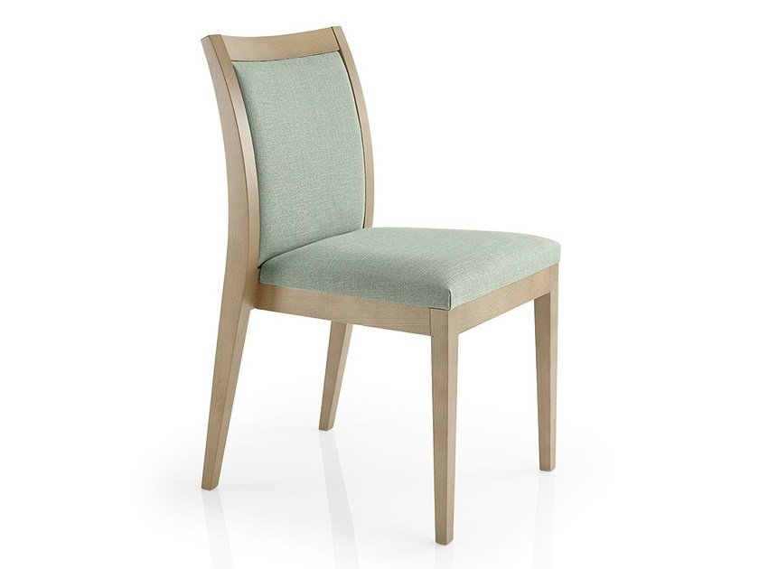 Stackable leather chair CASSIS | Leather chair by JMS