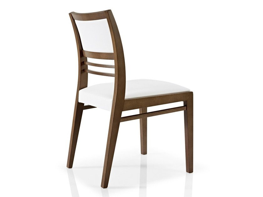 Open back fabric chair CASSIS | Open back chair by JMS