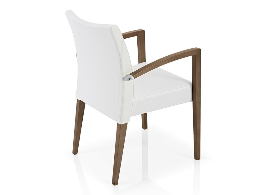 Stackable chair with armrests CASSIS | Stackable chair by JMS