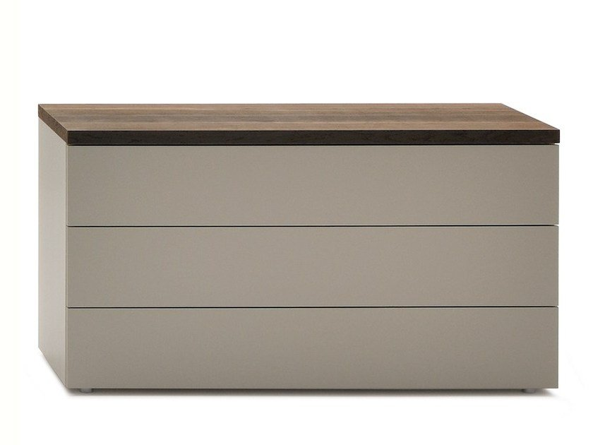 Wooden chest of drawers HIRO | Chest of drawers by Silenia