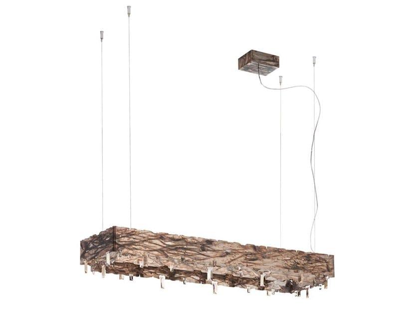 Metal pendant lamp CASTLE   Pendant lamp by IDL EXPORT