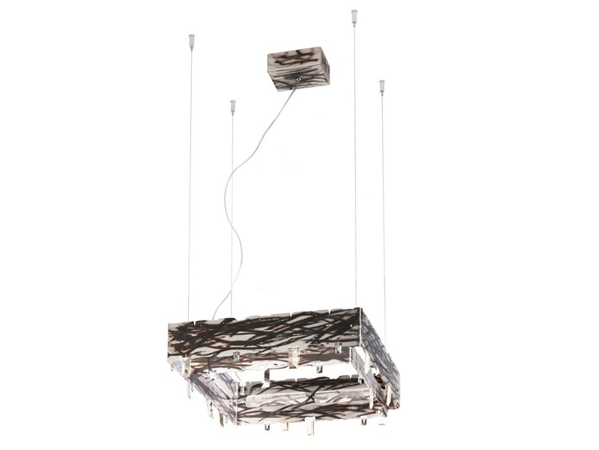 Metal pendant lamp CASTLE | Pendant lamp by IDL EXPORT