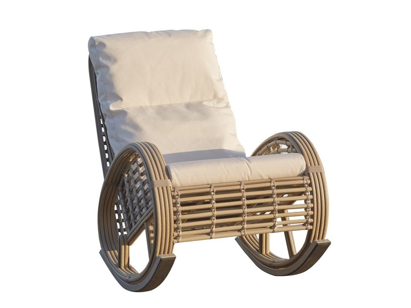Rocking chair CASTRIES 22858 by SKYLINE design