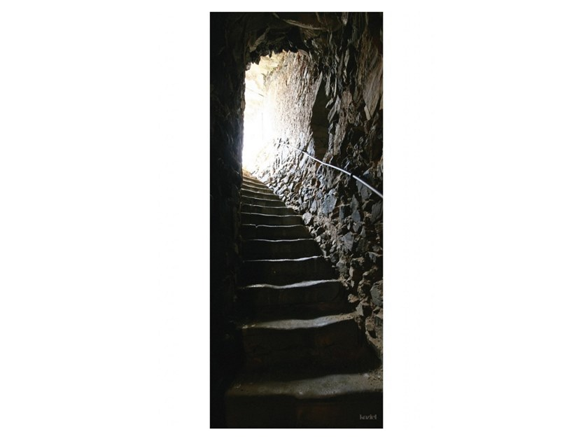 Polyester Tapestry CATACOMB STAIRS by Koziel