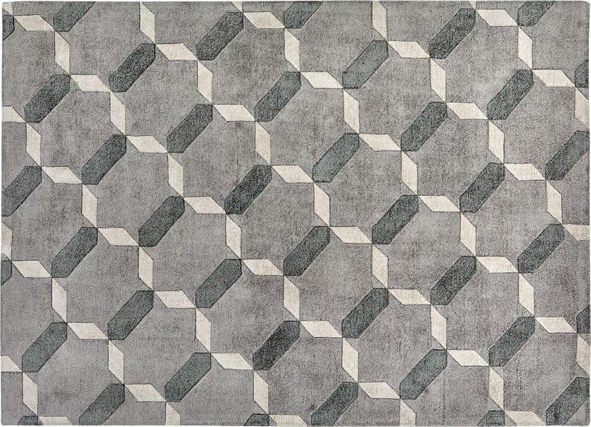 Tappeto rettangolare in seta a motivi geometrici PENELOPE by Italy Dream Design