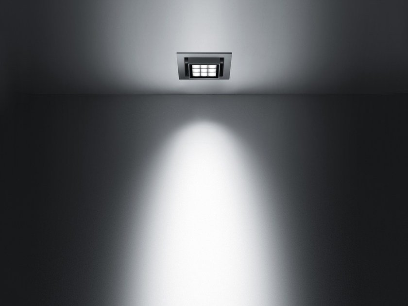 LED recessed die cast aluminium Outdoor spotlight CATCH by SIMES
