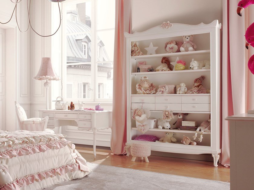 Open kids bookcase CATERINA | Kids bookcase by VOLPI