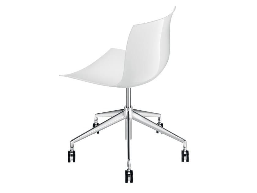 Swivel chair with 5-spoke base CATIFA 53 | Chair with 5-spoke base by arper