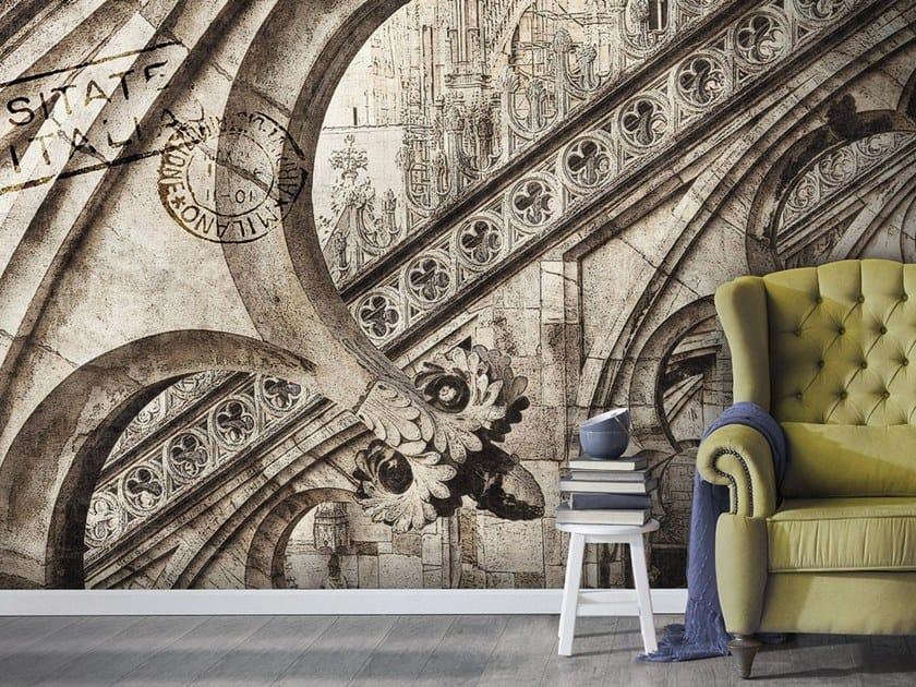 Vinyl or fyber glass wallpaper CATTEDRALE by N.O.W. Edizioni