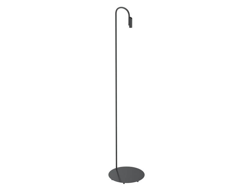 Lampada da terra per esterno a LED in acciaio inox CAULE | Lampada da terra per esterno by Flos