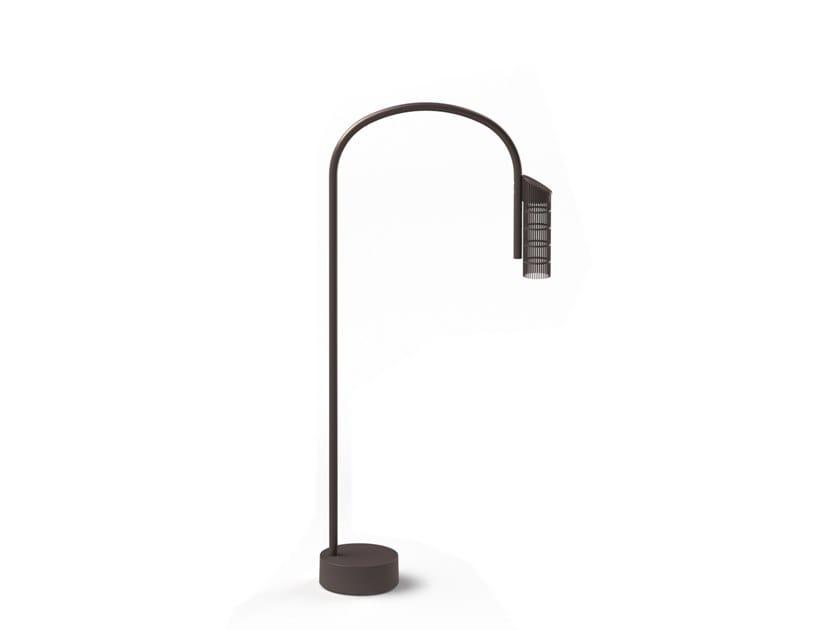Paletto luminoso a LED in acciaio inox CAULE NEST | Paletto luminoso by Flos