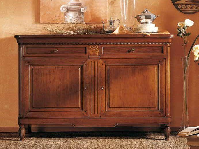 Solid wood sideboard with drawers CAVOUR | Sideboard by Arvestyle