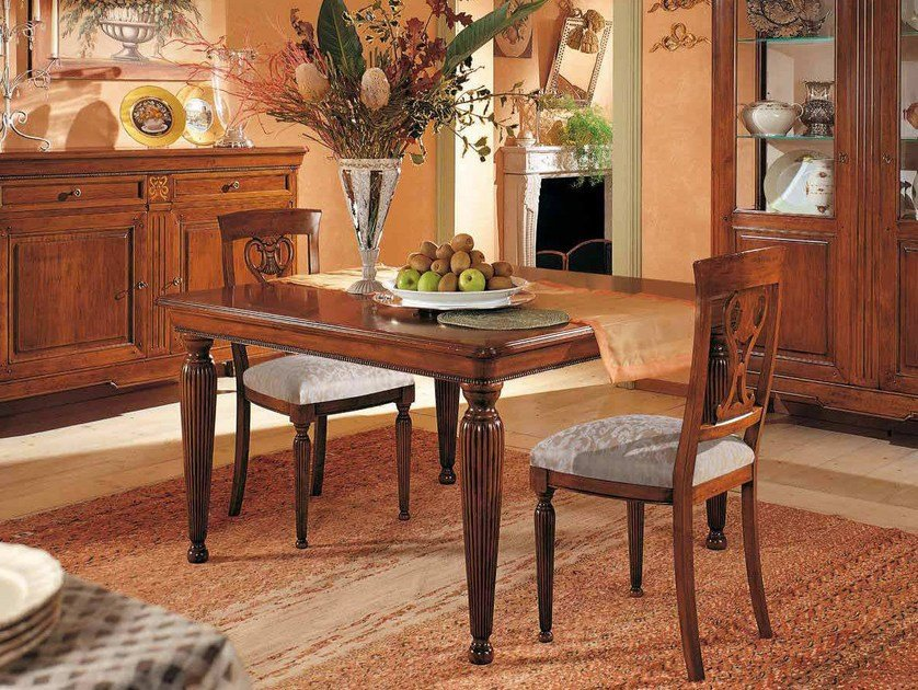 Extending solid wood table CAVOUR   Table by Arvestyle
