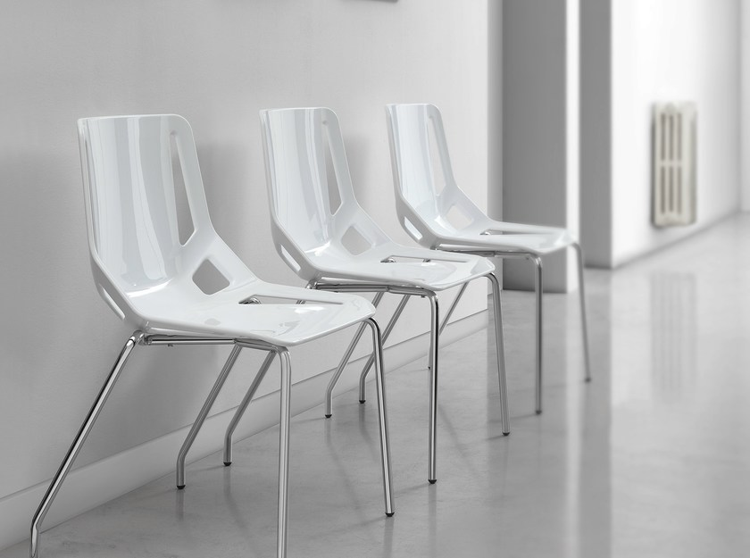 Technopolymer chair CB-Chair by Caimi Brevetti