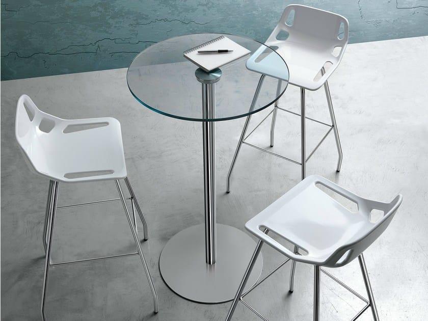Technopolymer stool CB-stool by Caimi Brevetti