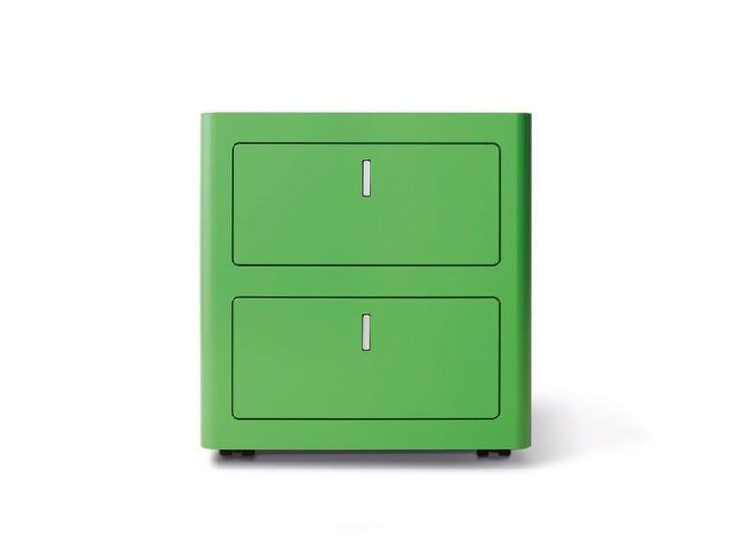 Cassettiera Ufficio In Metallo : Cassettiera ufficio in metallo con serratura cbox dieffebi