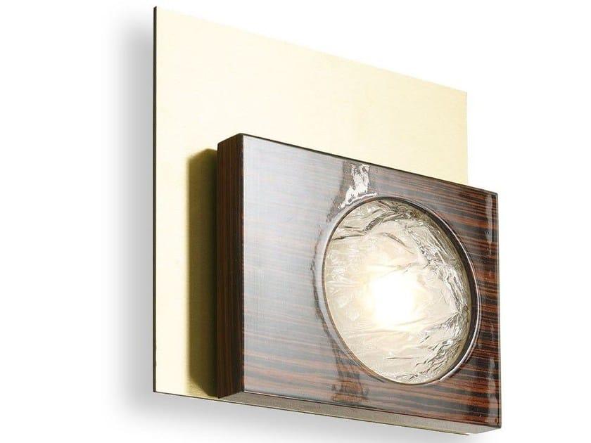 Applique a LED in legno CECILE | Applique by MARIONI