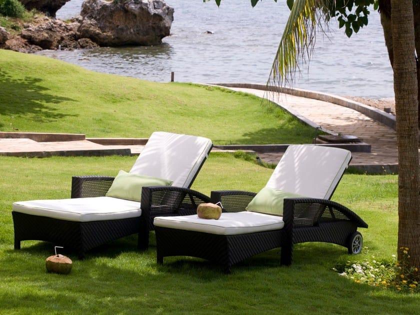 Lettino da giardino reclinabile CEDAR | Lettino da giardino by 7OCEANS DESIGNS
