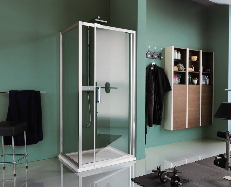 Samo Box Doccia New Cee.Cee Art Shower Cabin With Hinged Door By Samo