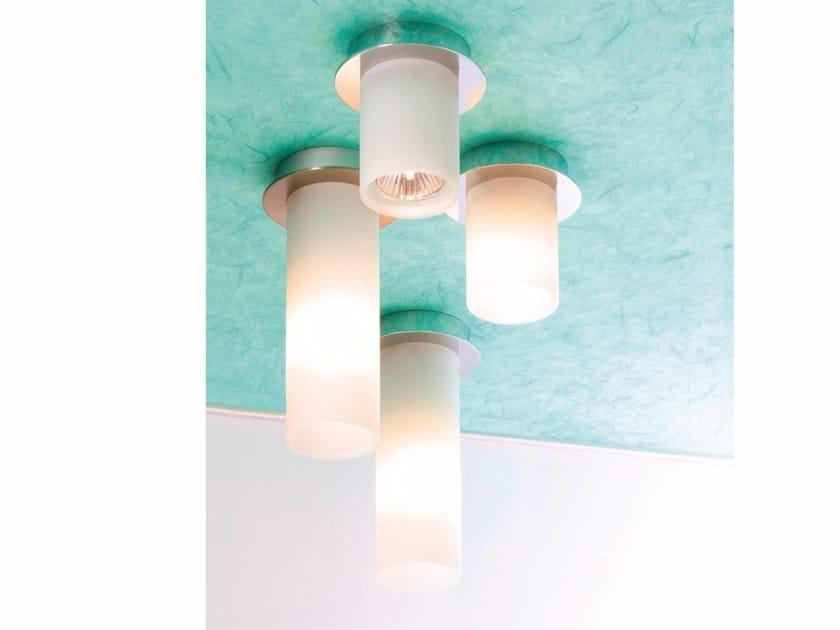 Lampada da soffitto in vetro CEILING DELA by Top Light
