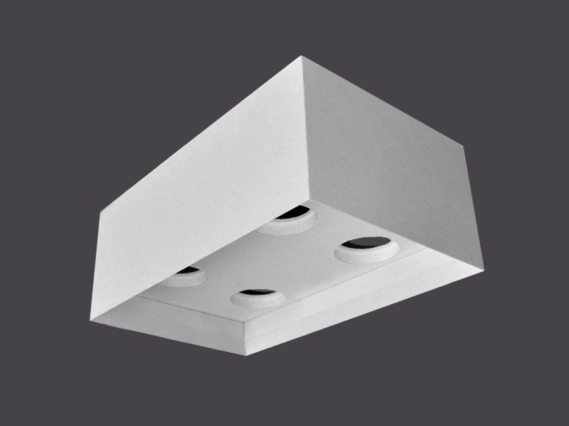 Plafoniere Led Per Doghe : Doghe in cartongesso con scuretto gyps linear by