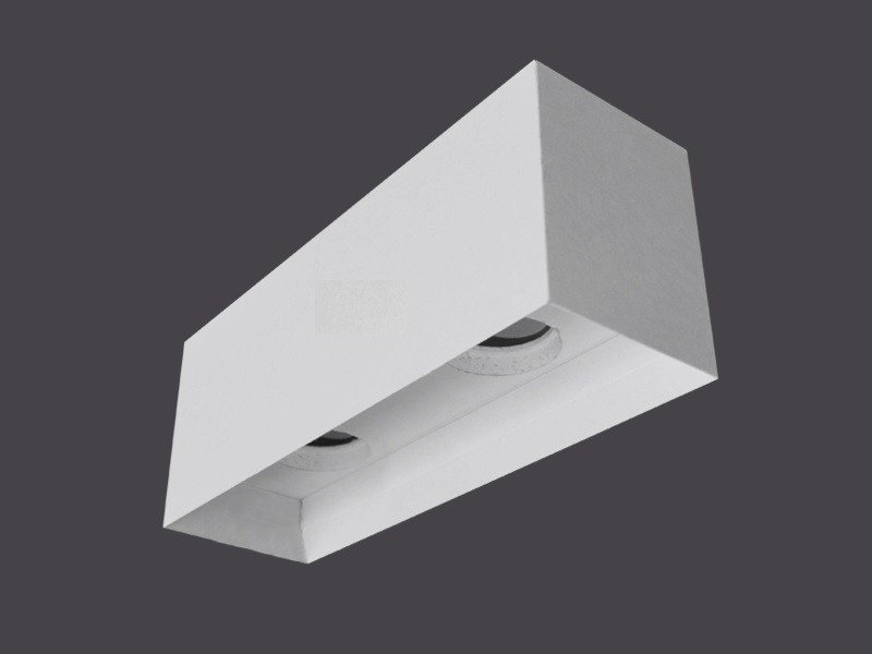 Plafoniere a soffitto in Cartongesso PLAFONIERE SOFFITTO SINGOLE  135° by Gyps