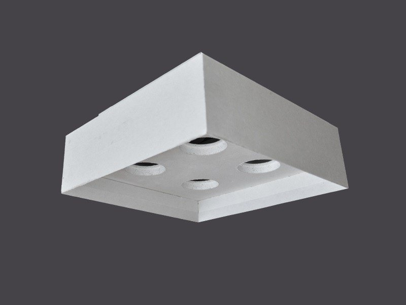 Plafoniere Quadrate Neon Ufficio : Plafoniere led in cartongesso soffitto strip 135