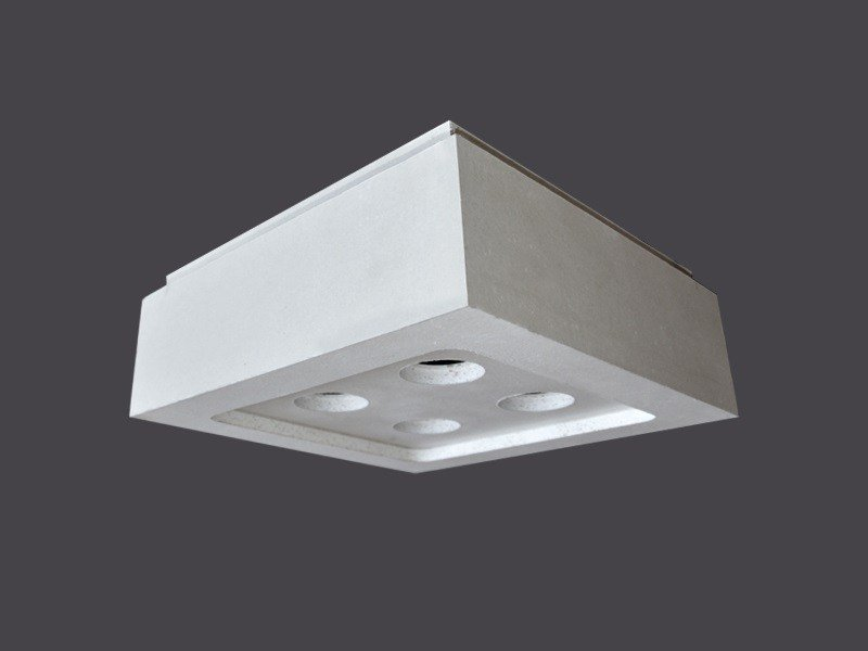 Plafoniere Da Soffitto In Gesso : Plafoniere led in cartongesso soffitto strip 90° gyps